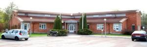 Bild på vårt gamla huvudkontor i Västerås, idag filial för Mälardalen.